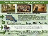 register here: http://www.transitionoahu.org/oahu-permaculture-design-course---winter-2014.html