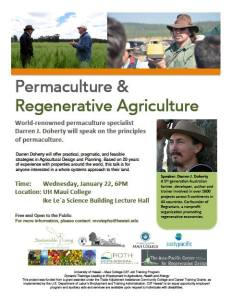 permaculture + regenerative agriculture