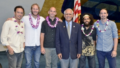 Thank you Senator Gabbard for a well-executed surprise!